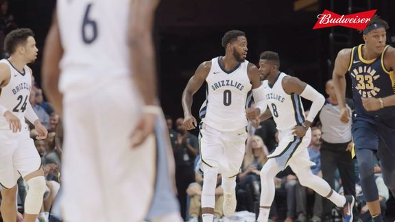 Grizzmo: JaMychal Green 2017-18 highlights
