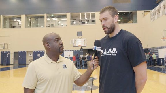 Michael Wallace goes 1 on 1 with Marc Gasol