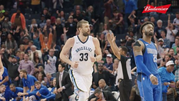 Grizzmo: Marc Gasol 2017-18 highlights