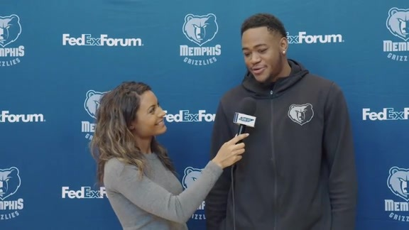 Alexis Morgan goes 1 on 1 with Jarell Martin