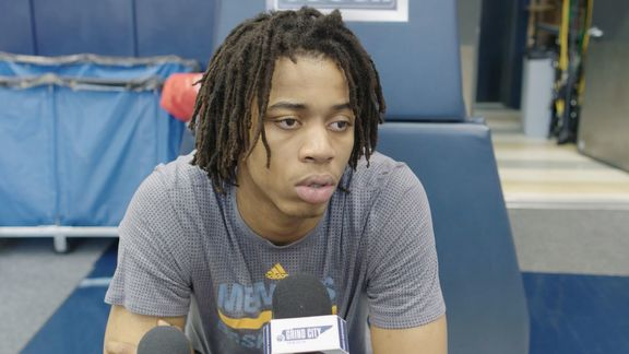 2017/18 Exit Interview: Deyonta Davis