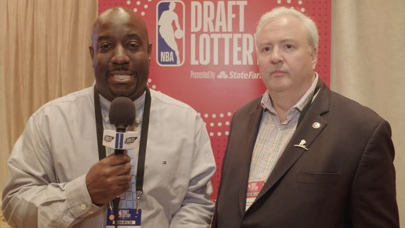 2018 NBA Draft Lottery Media Availability: Chris Wallace