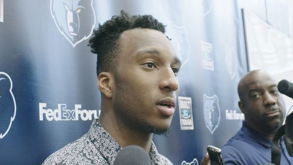 5.24.18 Josh Okogie Pre-Draft Workout media availability