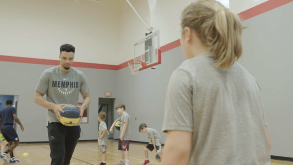Youth Basketball Camp with guest appearance from Dillon Brooks