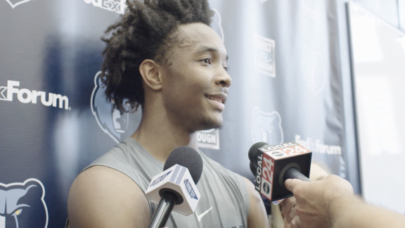 6.12.18 Devonte' Graham Pre-Draft Workout media availability