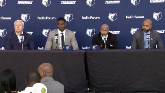 Grizzlies introduce 2018 draft picks Jaren Jackson Jr. and Jevon Carter at welcome Press Conference