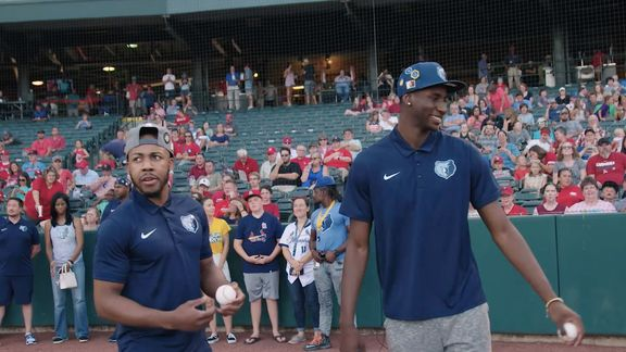Alexis All-Access: Memphis Redbirds welcome Grizz rookies