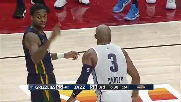 Jevon Carter with the great assist