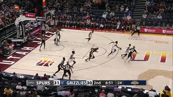 Simmons steals and scores