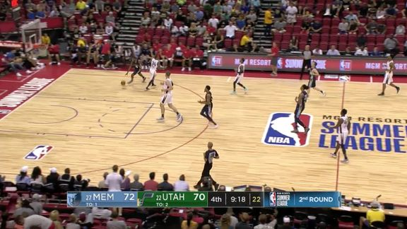 MEM@UTA: Top steals of the night 7.14.18