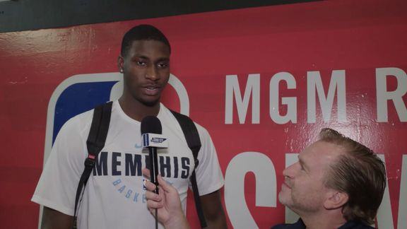 Eric Hasseltine goes 1 on 1 with Jaren Jackson Jr.