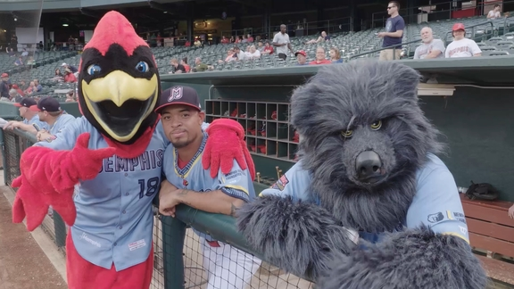 Alexis All-Access: Grit & Grind night with the Memphis Redbirds