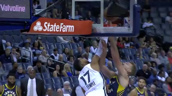 Garrett Temple protects the rim