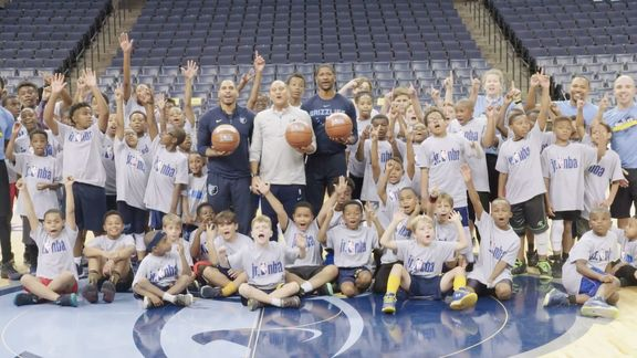 Grizzlies host Junior NBA Clinic 2018