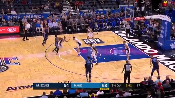 Mike Conley drops 24 points against Magic