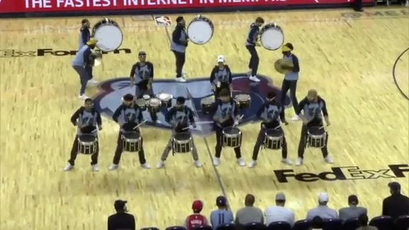 Grizzline rallies up FedExForum 10.12.18