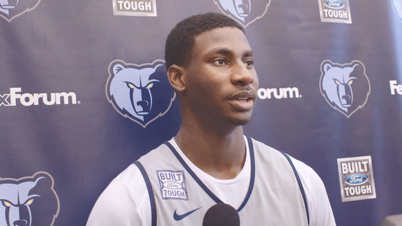 10.18.18 Jaren Jackson Jr. media availability