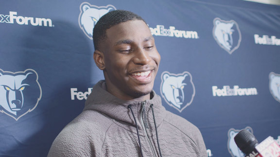 10.19.18 Jaren Jackson Jr. media availability