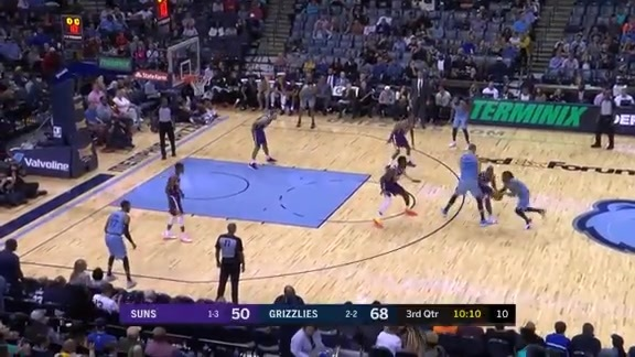 Grizzlies vs. Suns highlights 10.27.18