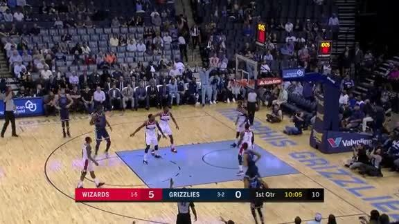 Grizzlies vs. Wizards highlights 10.30.18