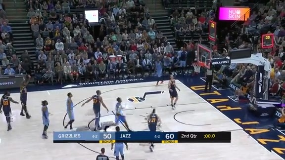 Conley comes in clutch at the buzzer