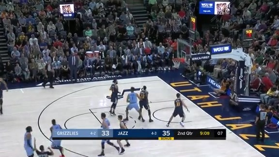 Marc Gasol scores 17 pts against Jazz