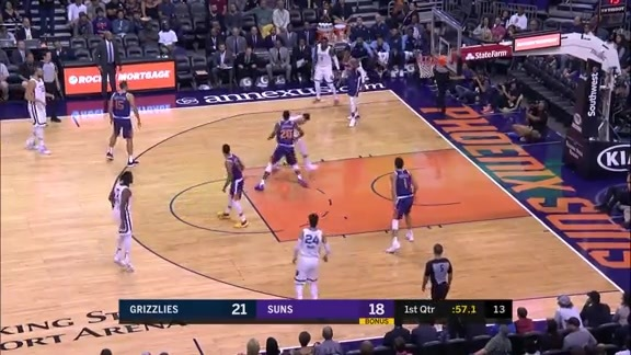 Casspi with a crossover on his way to the basket