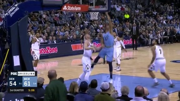Grizzlies vs. Nuggets highlights 11.7.18