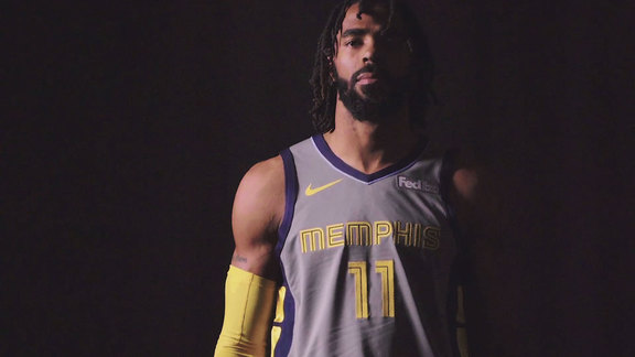 Mike Conley and Jaren Jackson Jr. showcase new 'Main Event' city jerseys