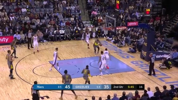 Garrett Temple gets fancy off the glass