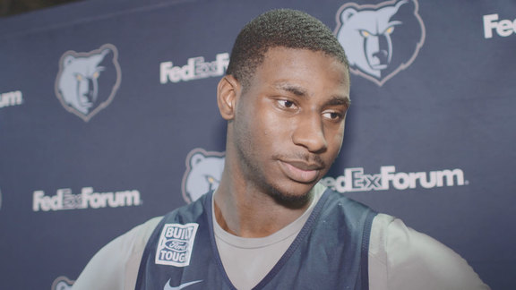 11.12.18 Jaren Jackson Jr. media availability