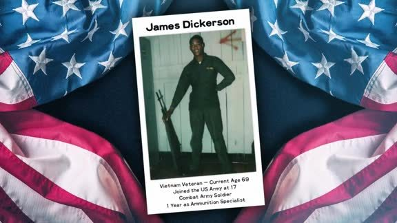 Ashley Furniture Military Salute: James Dickerson