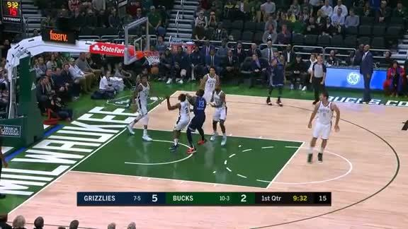 Grizzlies vs. Bucks highlights 11.14.18