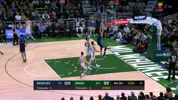 Marc Gasol scores 29 points against Bucks