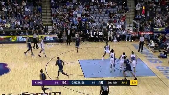 Gasol dials in from deep
