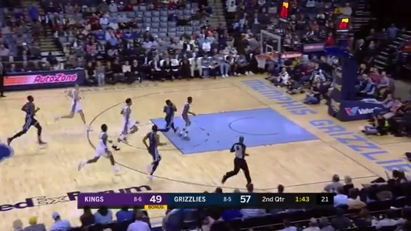 Grizzlies vs. Kings highlights 11.16.18