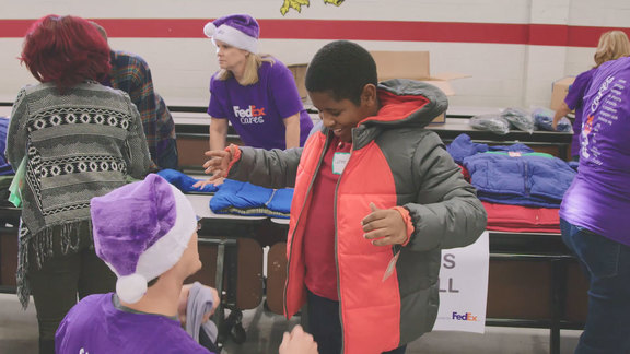 FedEx Coat Drive 2018 Recap