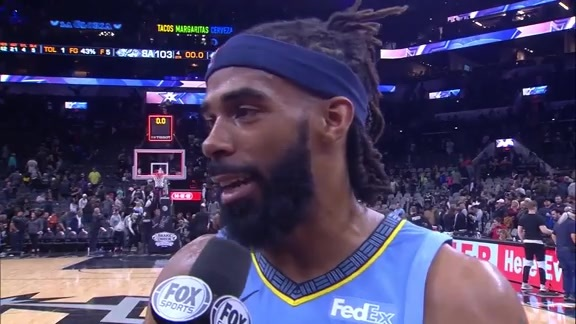 MEM@SAS: Mike Conley walkoff interview 11.21.18
