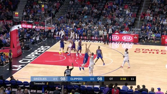 Marc Gasol 27 points @ Clippers 11.23.18