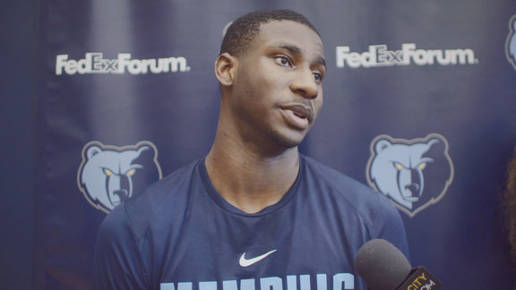 11.26.18 Jaren Jackson Jr. media availability