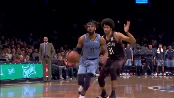 Mike Conley 37 points @ Nets 11.30.18