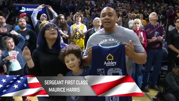 Ashley Furniture Military Salute: Maurice Harris