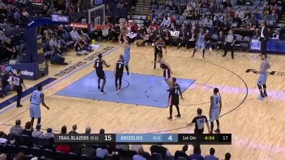 Omri Casspi lays it up and in