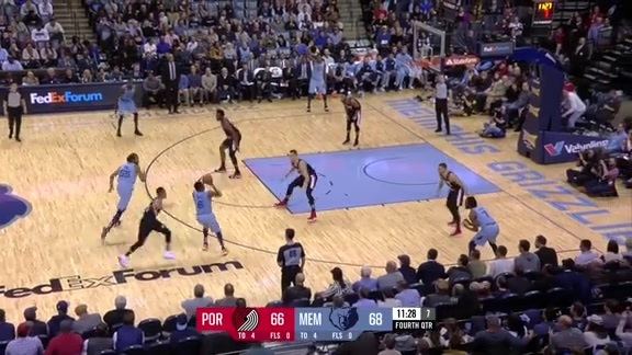 Shelvin Mack pulls up with a deep 3