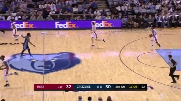 Mike Conley 22 points vs. Heat 12.14.18