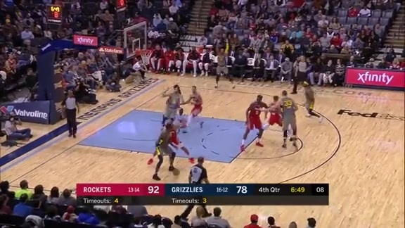 Grizzlies vs. Rockets highlights 12.15.18