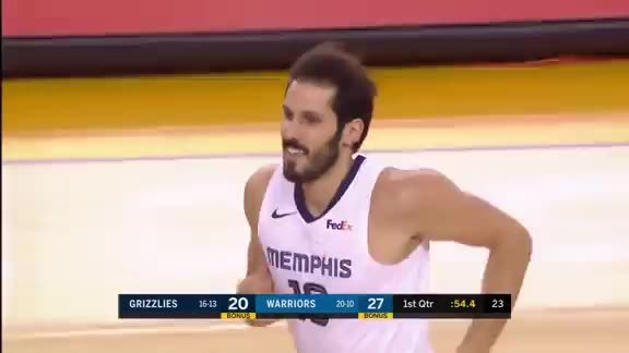 Omri Casspi 20 points @ Warriors 12.17.18