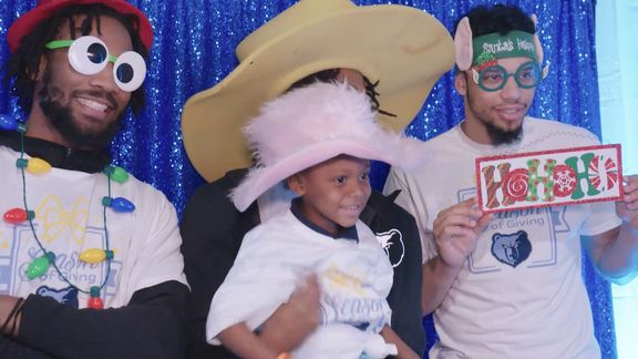 Grizzlies Season of Giving Holiday Party Recap