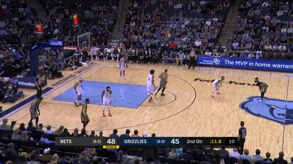 Mike Conley 31 points vs. Nets 1.4.19