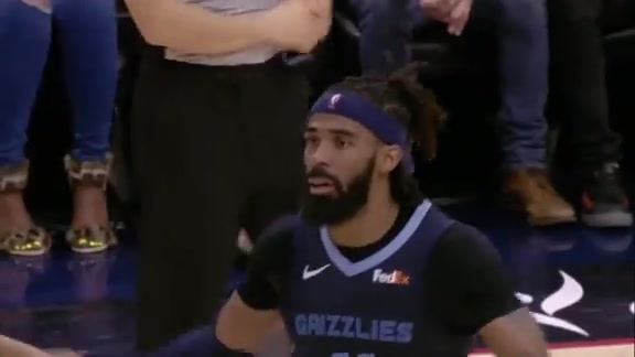Mike Conley 22 points @ Pelicans 1.7.19